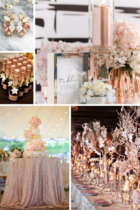 Rose Gold Wedding Inspiration You're Bound to LOVE Burgh
