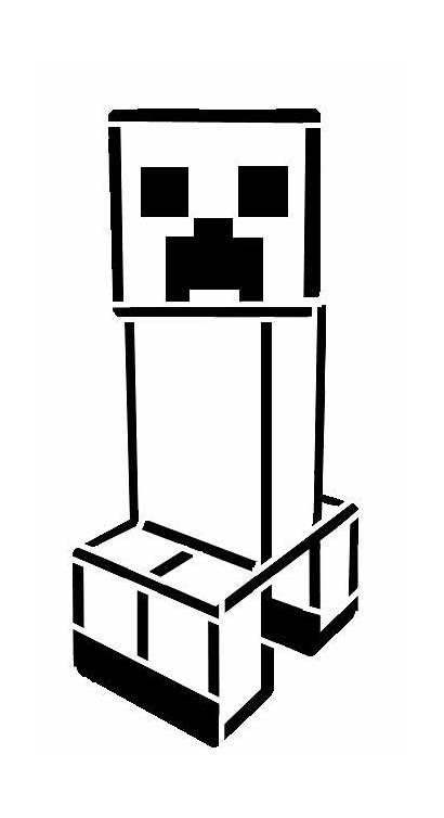 Minecraft Creeper Stencil Silhouette Stencils Svg Cricut