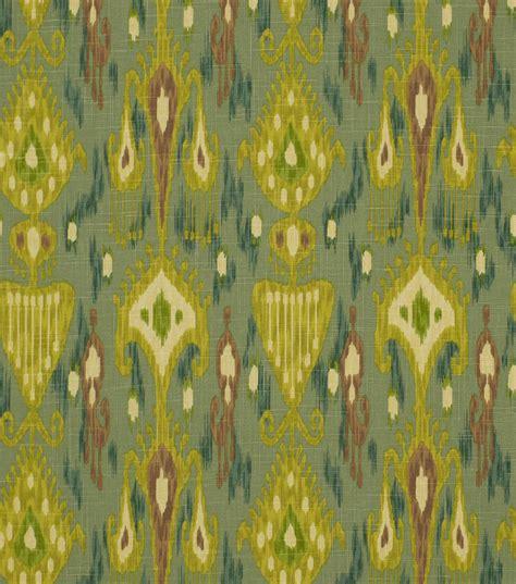home decor print fabric robert allen khanjali peacock jo