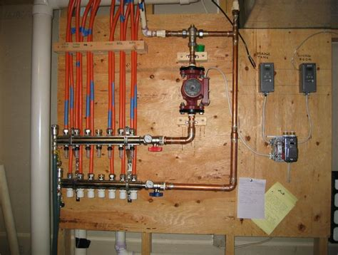 solar house heating system control diagram home