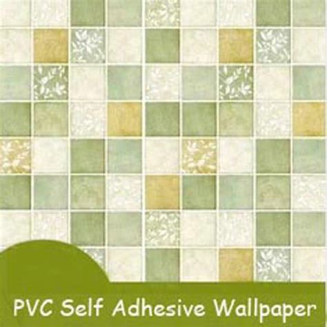 solid self adhesive mosaic wallpaper for kitchen bathroom