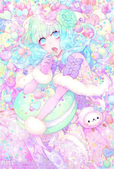 Anime Wallpaper Pastel - asajima yoshiyuki pinteres