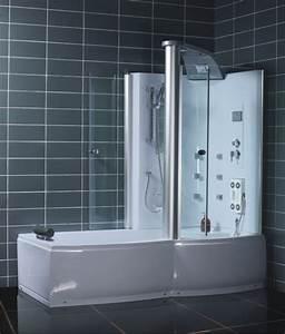 Badewanne Und Dusche In Einem : badewanne und duschkabine in einem ebay ~ Michelbontemps.com Haus und Dekorationen