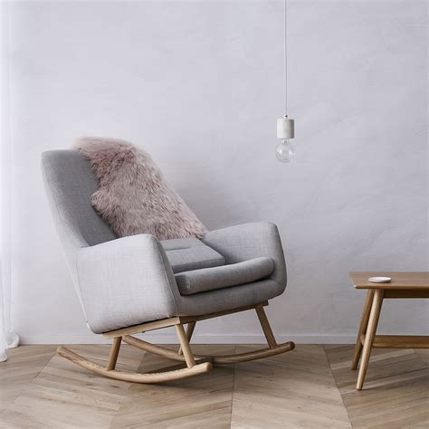 Rocking Chair Cushions Nursery Decor by Norse Rocking Chair Grey Furniture Chairs Adairs