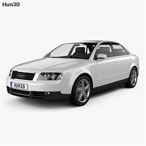 Audi A4  B6  Sedan 2002 3d Model