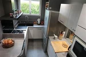 Table Cuisine Petit Espace : cuisine petit espace socoo 39 c guichainville ~ Teatrodelosmanantiales.com Idées de Décoration