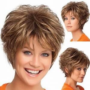 Coupe Courte Cheveux Bouclés : mode perruque courte coupe de cheveux boucl s d grad de ~ Melissatoandfro.com Idées de Décoration
