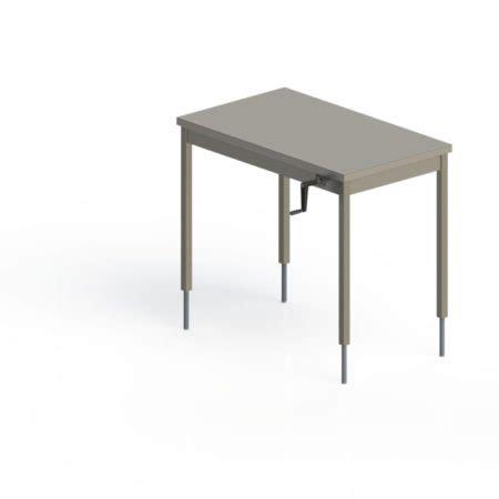 table inox centrale fixe hauteur r 201 glable manuelle pieds carr 201 s sans 201 tag 200 re basse happymanut