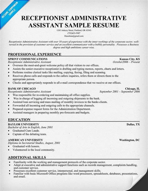 Administrative Assistant Key Skills For Resume by Pin By Kaitlyn Waller On Ideas Administrative Assistant