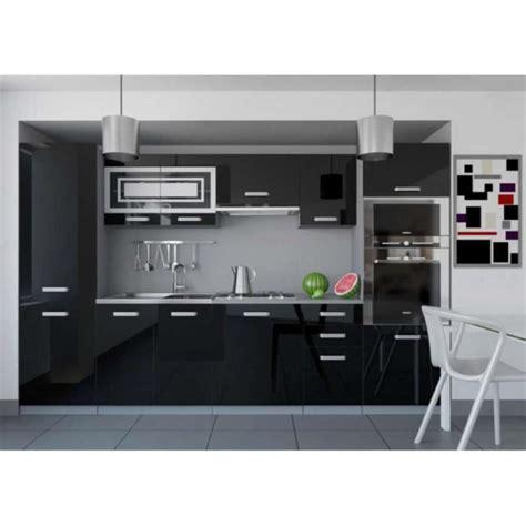 cuisine complete cuisine equipee noir laque chaios com