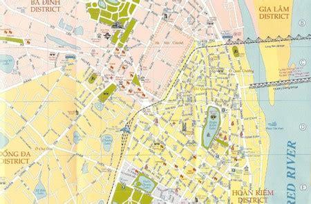 hanoi maps map  hanoi tourist attractions skytrain
