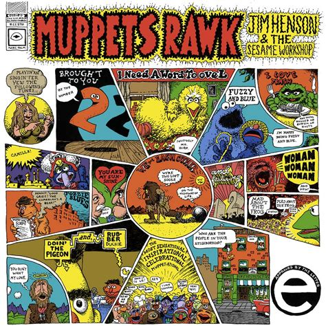 Roberson's Interminable Ramble Muppets Rawk And Cheap Thrills