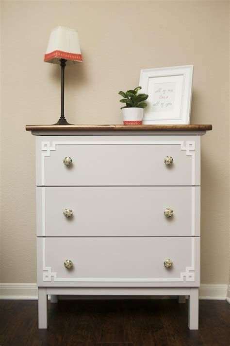 ikea pink and white dresser white ikea dresser hacks and transformations