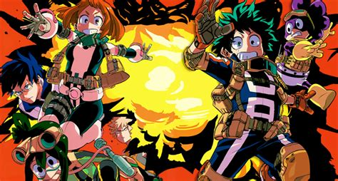 Boku No Hero Academia Seven In Heaven