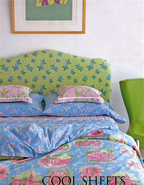Lilly Pulitzer Bed Spread by Lilly Pulitzer S Bedding By Dan River Palm Toile