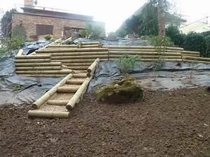 Rondin De Bois Pour Jardin : rondin bois pour jardin ~ Edinachiropracticcenter.com Idées de Décoration