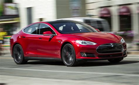 2016 Tesla Model S Widescreen Desktop Wallpapers #2498