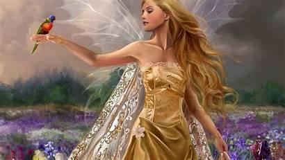 Angel Wallpapers Desktop Angels Wings Golden Fairies