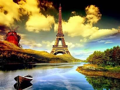 Paris Eiffel Tower Wallpapers Desktop France Background
