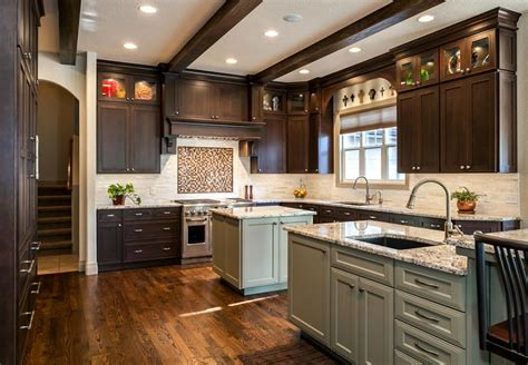 butlers kitchen designs denver kitchen remodel features butlers pantry 2 islands 1882