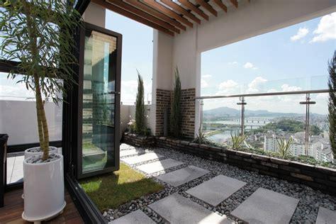 penthouse terrace garden