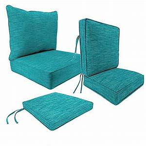 outdoor patio cushions in remi lagoon bed bath beyond With bed bath and beyond patio furniture cushions