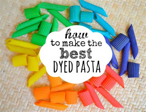 pasta craft ideas how to make the best dyed pasta colors colored pasta 2655