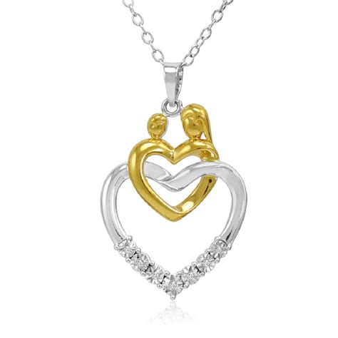 Two Tone Sterling Silver Mother And Baby Diamond Heart. Asymmetrical Wedding Rings. Royalty Engagement Rings. Buy Glass Beads In Bulk. Heart Bangle Bracelet Sterling Silver. Pendant Jewelry. Man Leather Bracelet. Harlequin Diamond. Flashy Wedding Rings