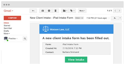Legal Client Intake Forms For Law Firms Online