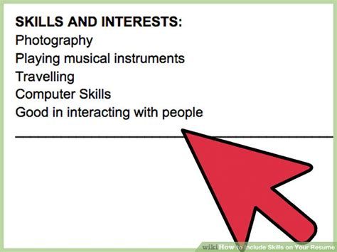 3 Ways To Include Skills On Your Resume  Wikihow. 92a Resume. Sample Resume For Subway Sandwich Artist. Example Of Resume For Students In College. Sample Of Resume For Electrical Engineer. How To List Skills On A Resume Example. Resume Guides. Things To Include In A Resume. Example Resume High School