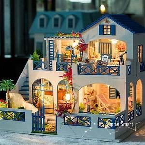 Puppenhaus Bausatz Für Erwachsene : miniatur puppenhaus diy kit shooting star garten mit led ~ A.2002-acura-tl-radio.info Haus und Dekorationen