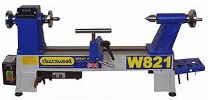 W821 Charnwood Midi Lathe with Electronic Variable Speed