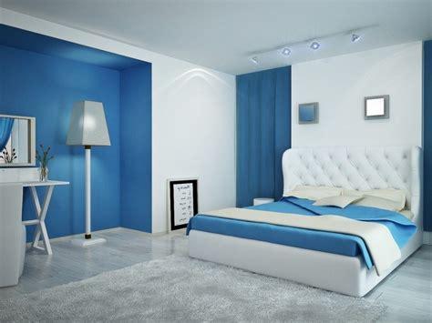 colores  dormitorios de matrimonio colores azul blanco