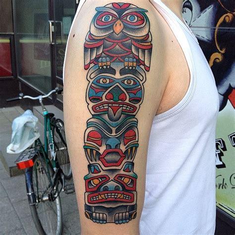 totem pole tattoos designs ideas  meaning tattoos