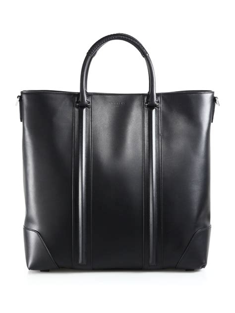 lyst givenchy lc tote bag  black  men