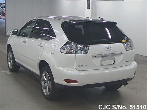 2011 toyota harrier pearl for sale stock no 51510 used cars exporter
