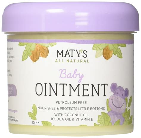 Amazoncom Matys All Natural Baby Chest Rub 15 Oz Jar