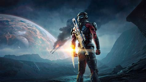 wallpaper mass effect andromeda  games