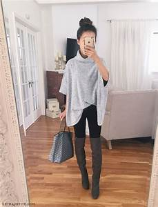 Best 25+ Poncho outfit ideas on Pinterest | Tartan blanket scarf Winter wear for girl and Black ...