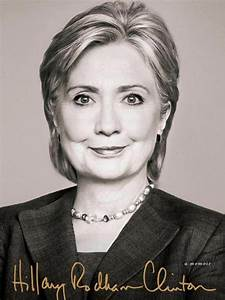 Hillary Clinton's book cover shows a candidate ready to ...