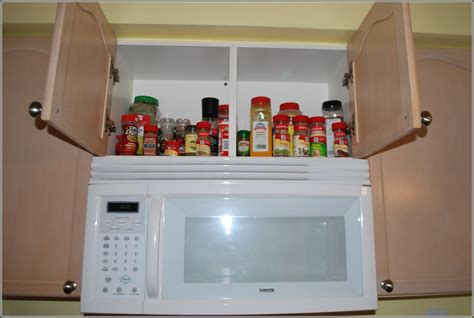 Wall Mount Spice Rack Wood Small Space Cicompanies
