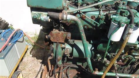 volvo penta mdb marine diesel engine youtube
