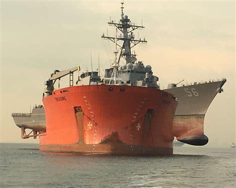 navy completes uss john  mccain transport