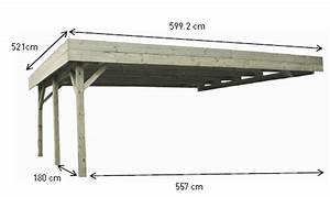 avis prix carport 7 messages With ordinary plan maison en pente 7 carport en bois adosse toit en pente