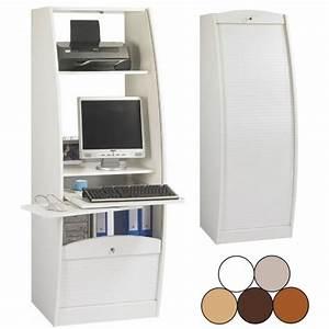 Meuble Ordinateur Salon : meuble ferm pour ordinateur bureau pour ordinateur pas cher whatcomesaroundgoesaround ~ Medecine-chirurgie-esthetiques.com Avis de Voitures