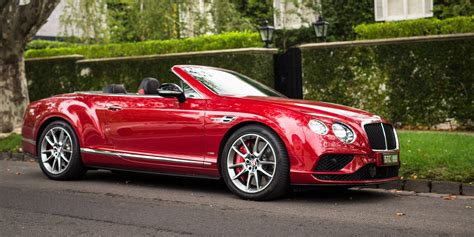 2018 Bentley Continental Gt Convertible V8 S Review