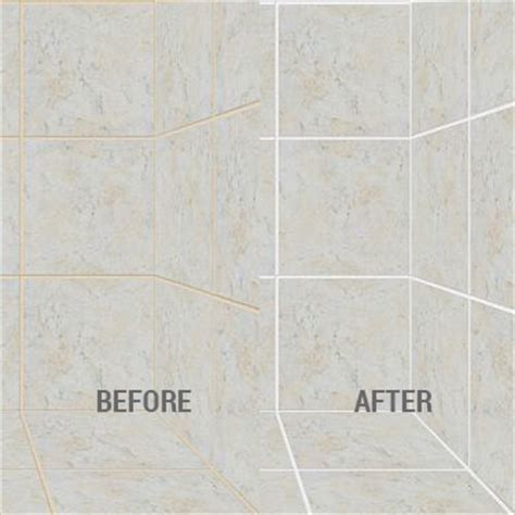 grout recoloring tile and grout recoloring seal systems