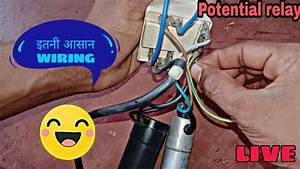 Potential Relay Wiring Diagram U0964ac Capacitor Wiring U0964 Relay