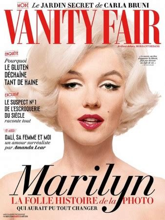 Vanity Fair Us Edition by Marilyn S Vanity Fair A Tale Of Many Covers Es Updates