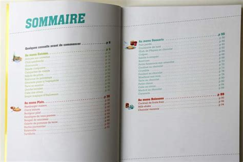 marmitons recettes cuisine livre 40 recettes pour marmitons de 7 à 10 ans cabane
